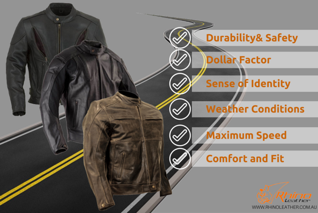 6 Things To Know Before Buying Your First Motorcycle Jacket Material