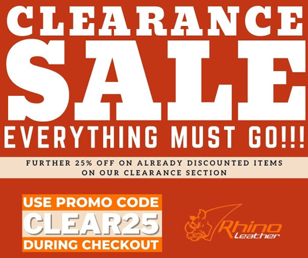 Clearance Sale: Everything Must Go!