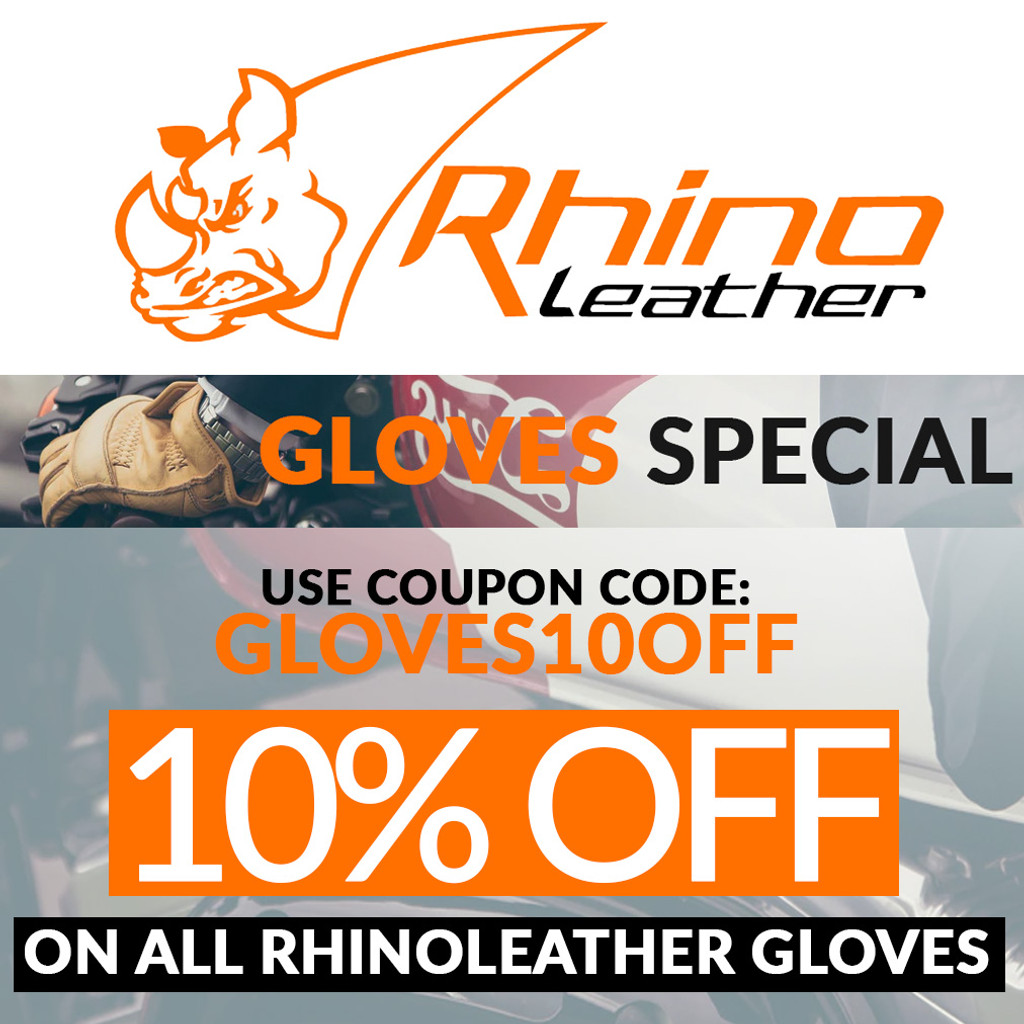 Rhinoleather Gloves Special - TAKE 10% OFF on all Rhinoleather Gloves