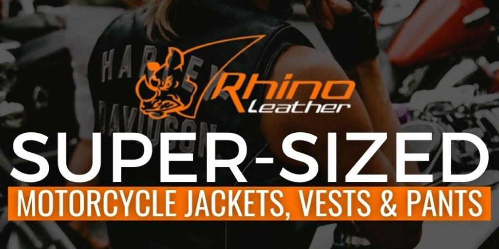 Super Sized Motorcycle Jackets, Vests & Pants