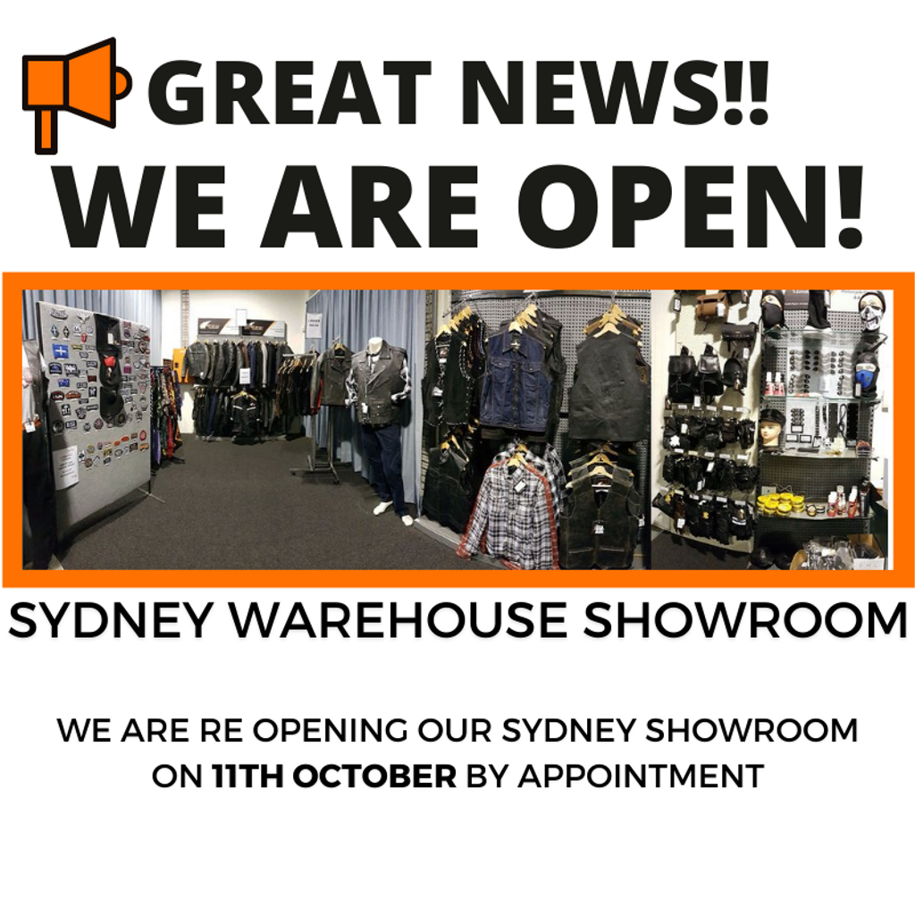 WOO HOO! SYDNEY SHOWROOM OPENS ON 11TH OCTOBER BY APPOINTMENT
