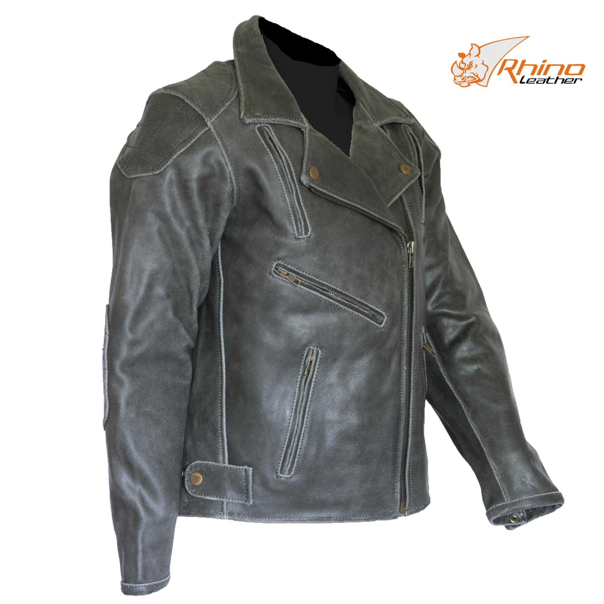 5dc93842b Diana Women's Black Vintage Distressed Leather Motorcycle Jacket