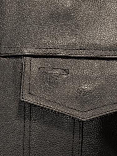 Sons of Anarchy Style Leather Vest - pocket