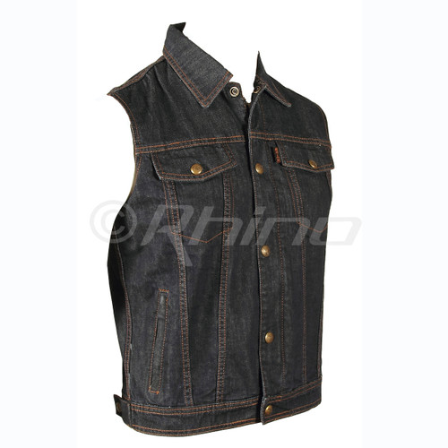 Blue Denim Motorcycle Vests