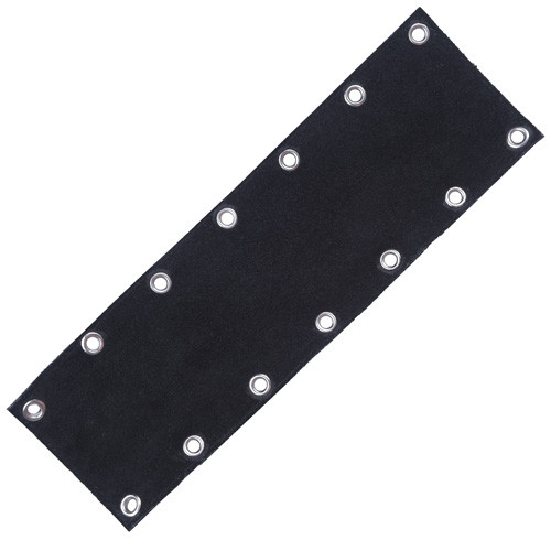 Side Vest Extenders - Suede (attached)