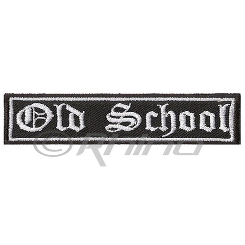 Old School Classic Motorcycle Biker Patch