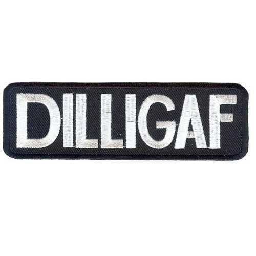 DILLIGAF Motorcycle Patch