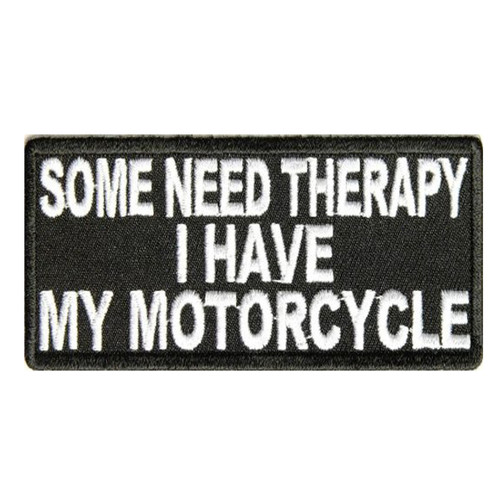 Some Need Therapy Motorcycle Patch