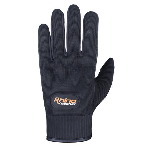 Short cuff motorcycle glove