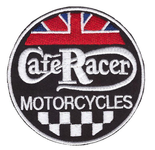 Caferacers Motorcycle Patch