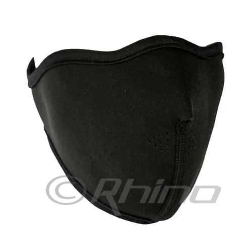 Black Neoprene Thermal Half Face Mask