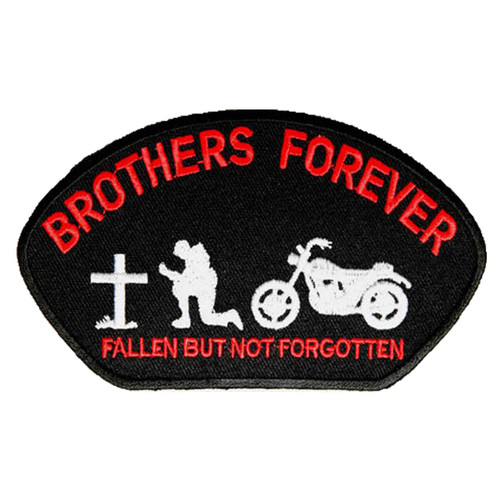Brothers Forever Embroidered Patch