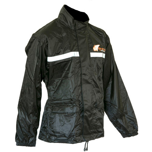 Motorcycle Rain Jacket Black
