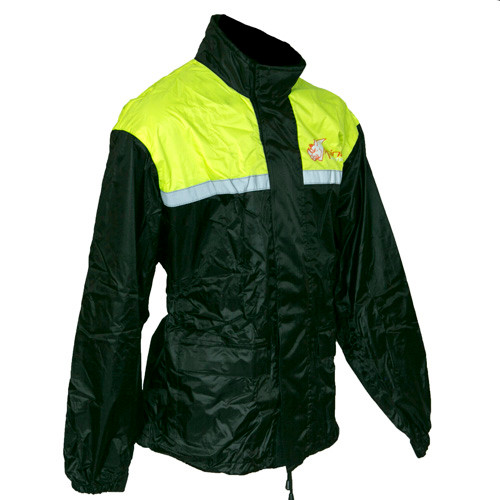 Motorcycle Rain Jacket Fluro