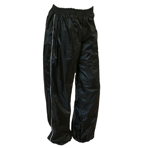 Torrent Motorcycle Rain Pants - Black