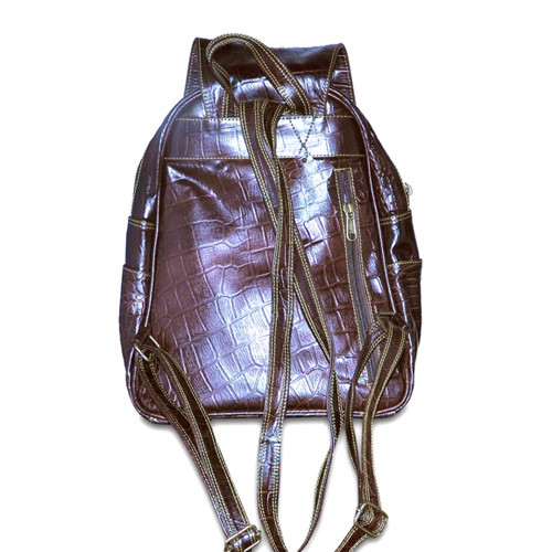 Leather Backpack with straps
