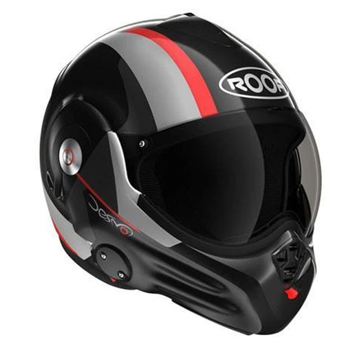 Roof Desmo Ram Black/Red Helmet
