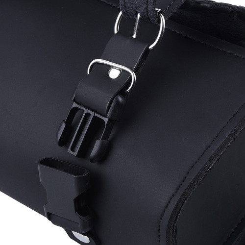 Square Braided Trim Recon Leather Tool Bag