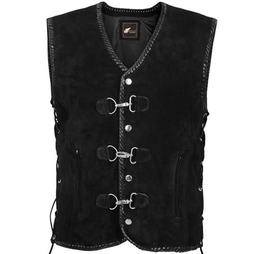 Suede Club vest