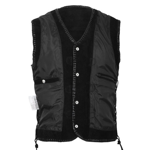 Leather Suede vest