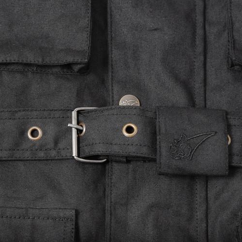 Belstaff style wax cotton jacket