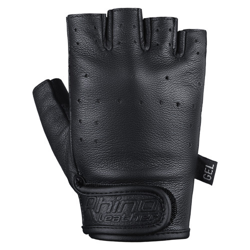 leather finger less gloves
