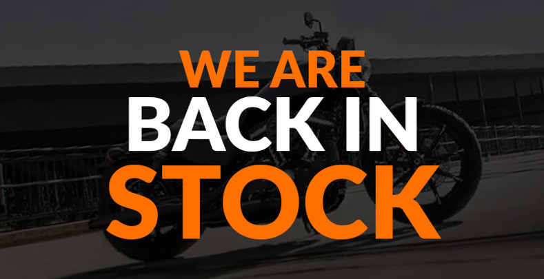Finally! We Are Back in Stock