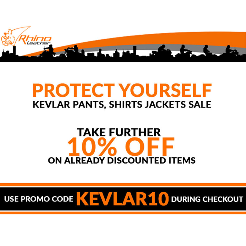 Protection Gear Sale - 10% Off All Aramid-Lined Clothing