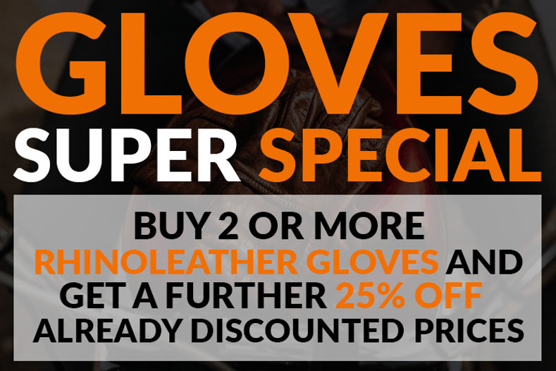 Rhinoleather Gloves Super Special Promo