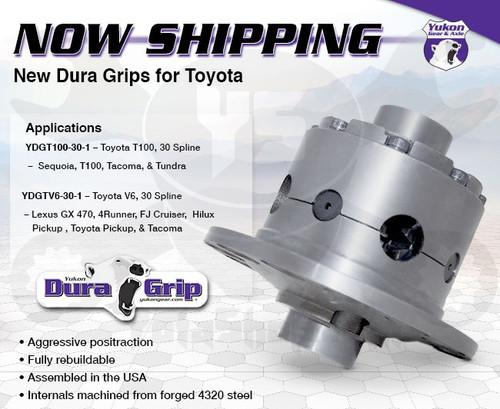 "Toyota Locker- Toyota Rear 8.4"" Tacoma, Tundra, T100 & Sequoia Rear Yukon Dura Grip Positraction Locker YDGT100-30-1"