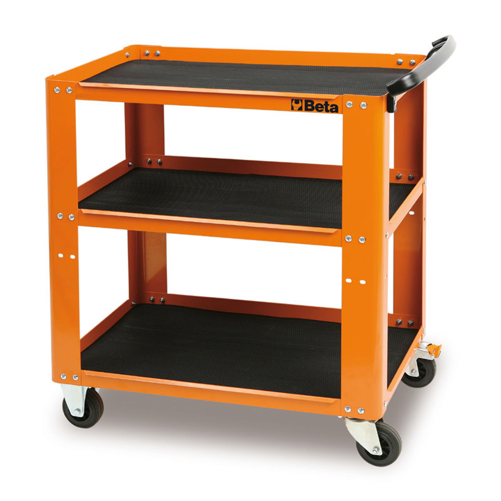 Beta Tools C51-O Tool Cart - Orange