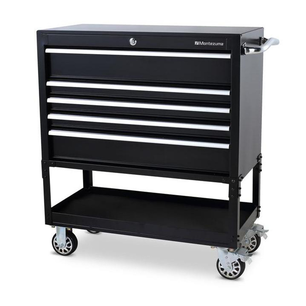 "Montezuma 30"" 5-Drawer Utility Cart"