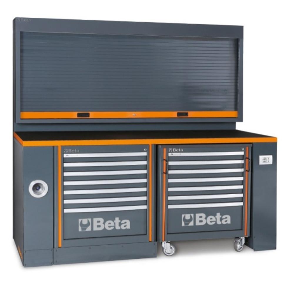 Beta Tools C55PB-PRO/5 Workbench for Workshop Equipment Combination