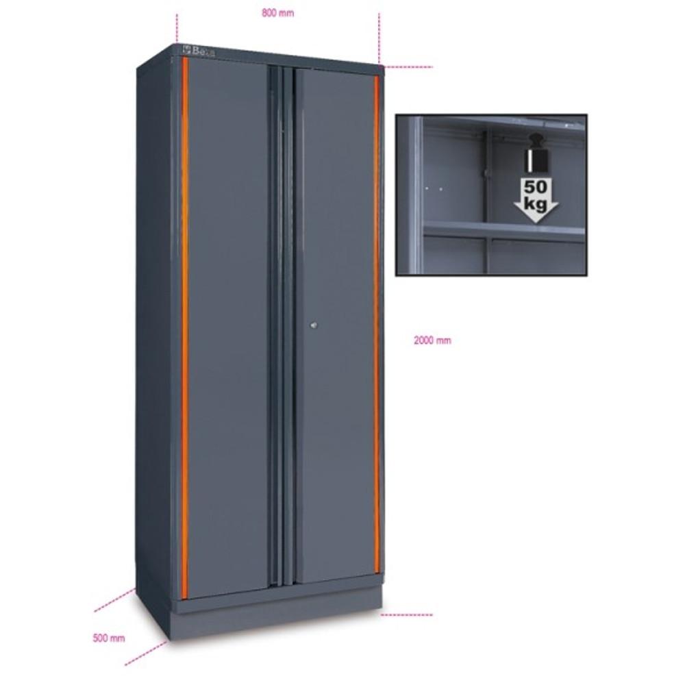 Beta Tools C55A2 Two-Door Tool Cabinet