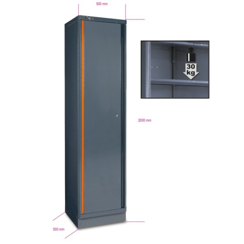 Beta Tools C55A1 Single-Door Tool Cabinet