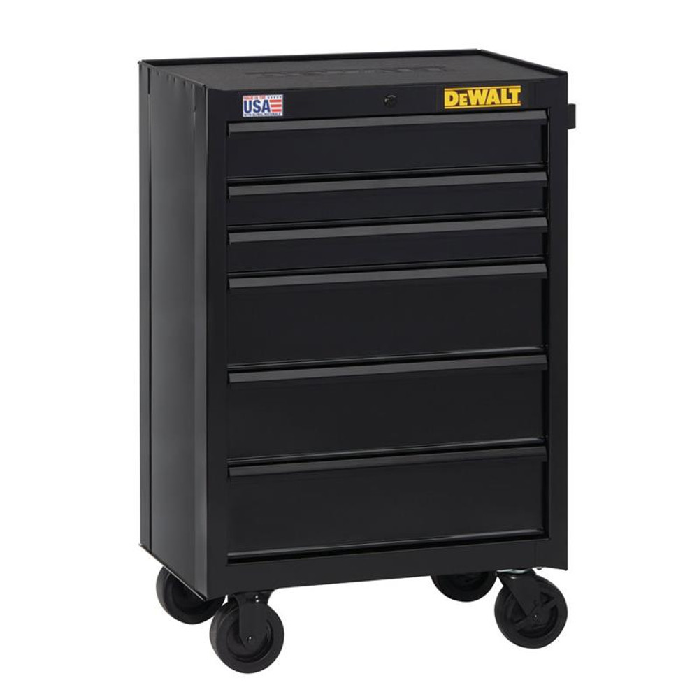 DeWALT 26-inch wide 6-Drawer Rolling Tool Cabinet