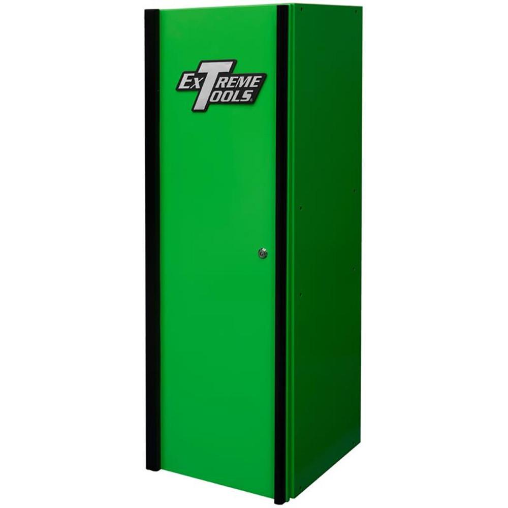 Extreme Tools DX Series 4-Shelf Side Locker - Green w/Black Handle