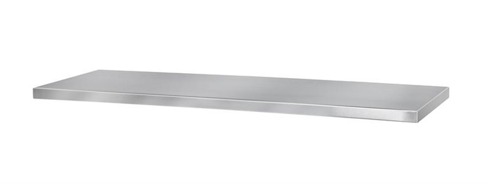 """Extreme Tools 72"""" x 25"""" 1.00mm, Grade 304 Stainless Steel Top"""