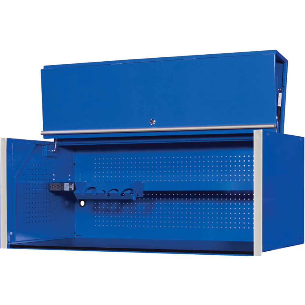 "Extreme Tools RX Series 55"" x 25"" Deep Professional Hutch - Blue"