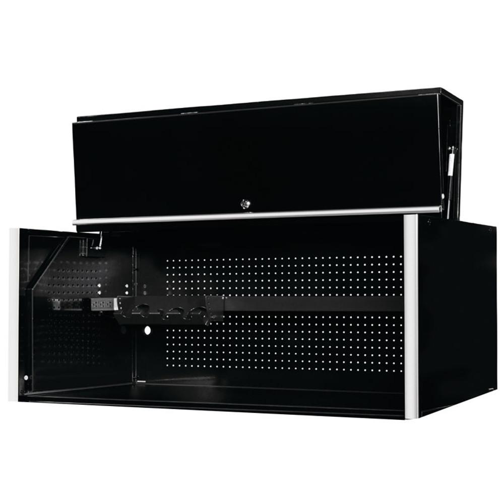 "Extreme Tools RX Series 55"" x 25"" Deep Professional Hutch - Black"