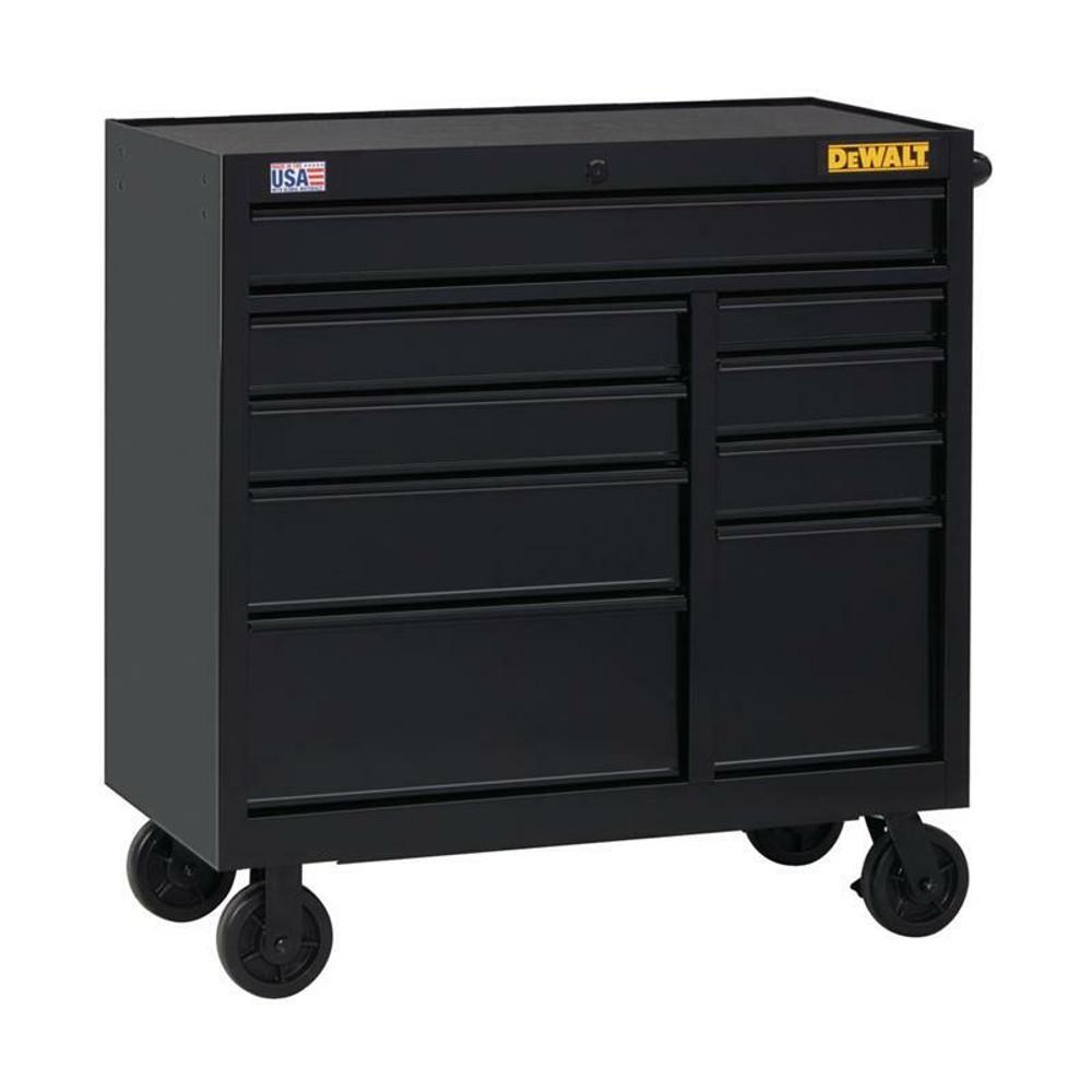 DeWALT 41-inch wide 9 Drawer Rolling Tool Cabinet