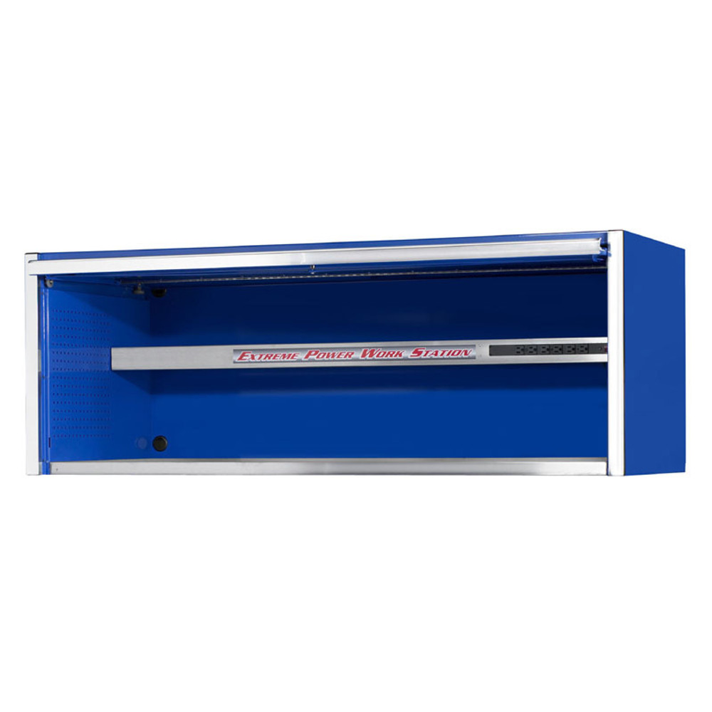 """Extreme Tools 72"""" Professional Hutch - Blue"""