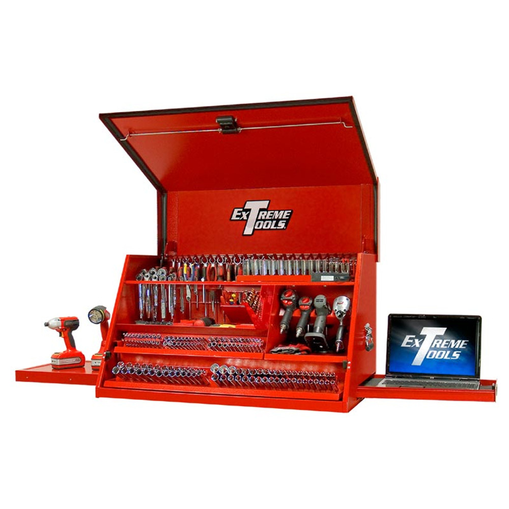 """Extreme Tools 41"""" Deluxe Portable Workstation - Red"""
