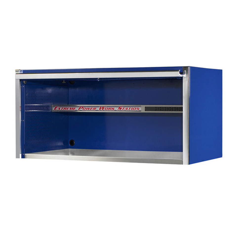 """Extreme Tools 55"""" Professional Hutch - Blue"""