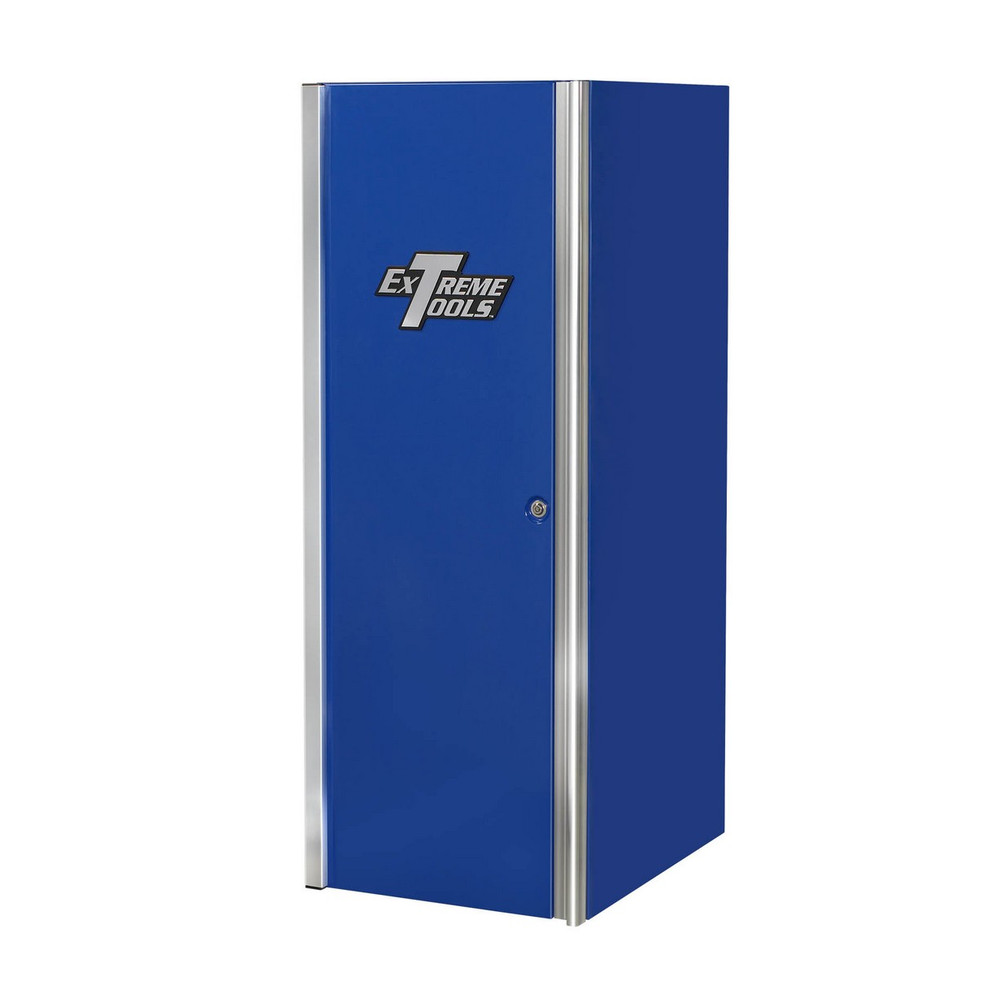 """Extreme Tools 24""""W x 30""""D 4-Drawer/2 Shelf Professional Side Cabinet - Blue"""