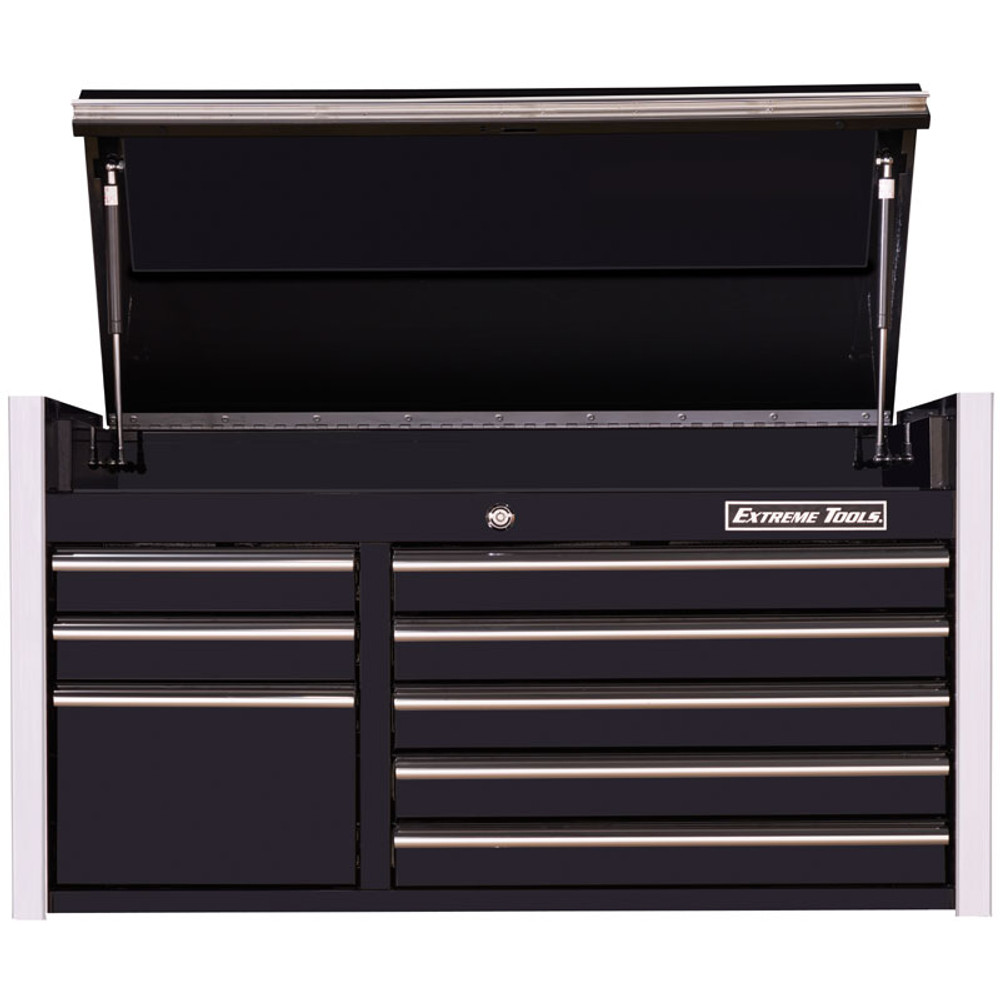 """Extreme Tools RX Series 41"""" 8-Drawer Top Chest - Black"""