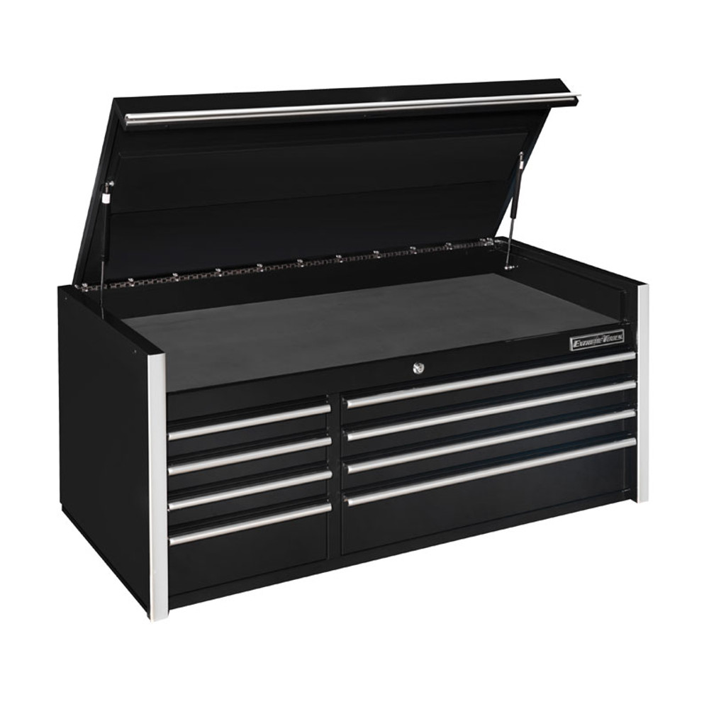 "Extreme Tools RX Series 55"" 8-Drawer Top Chest - Black"