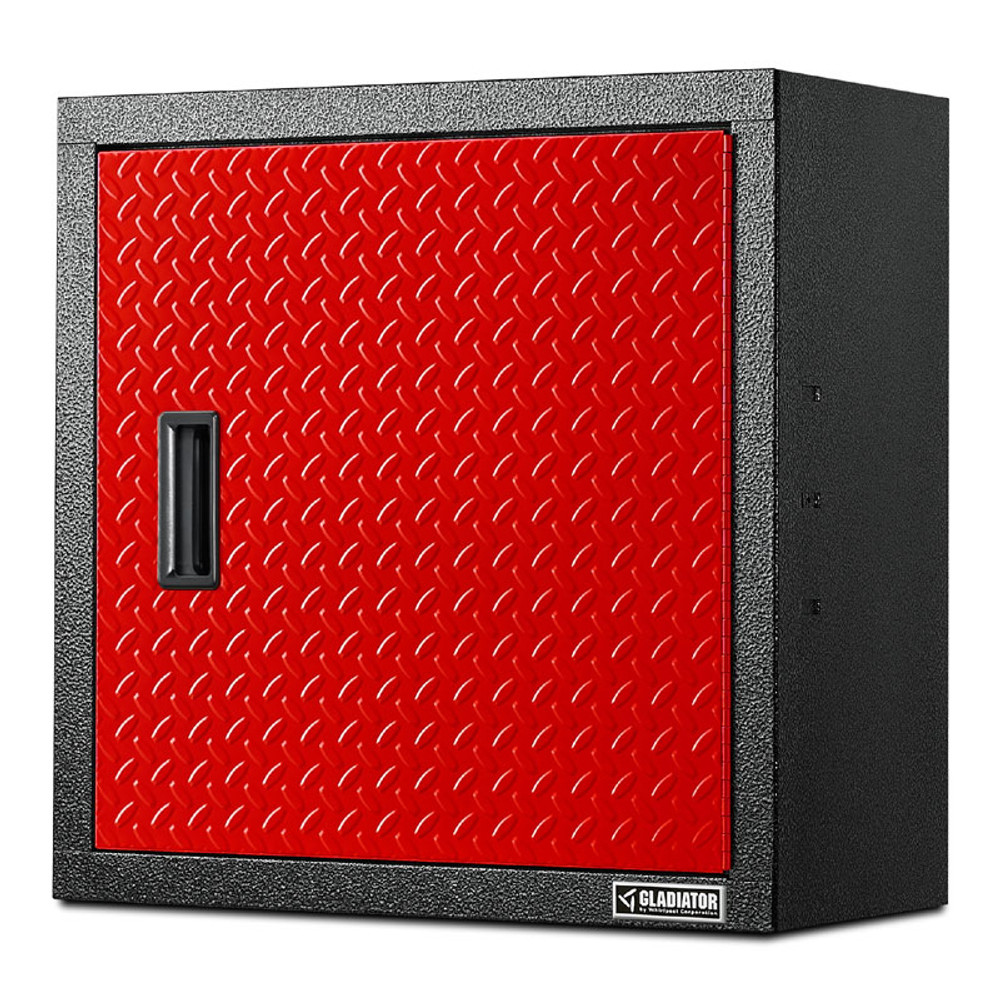 """Gladiator Premier Red Series 24"""" Wall GearBox"""