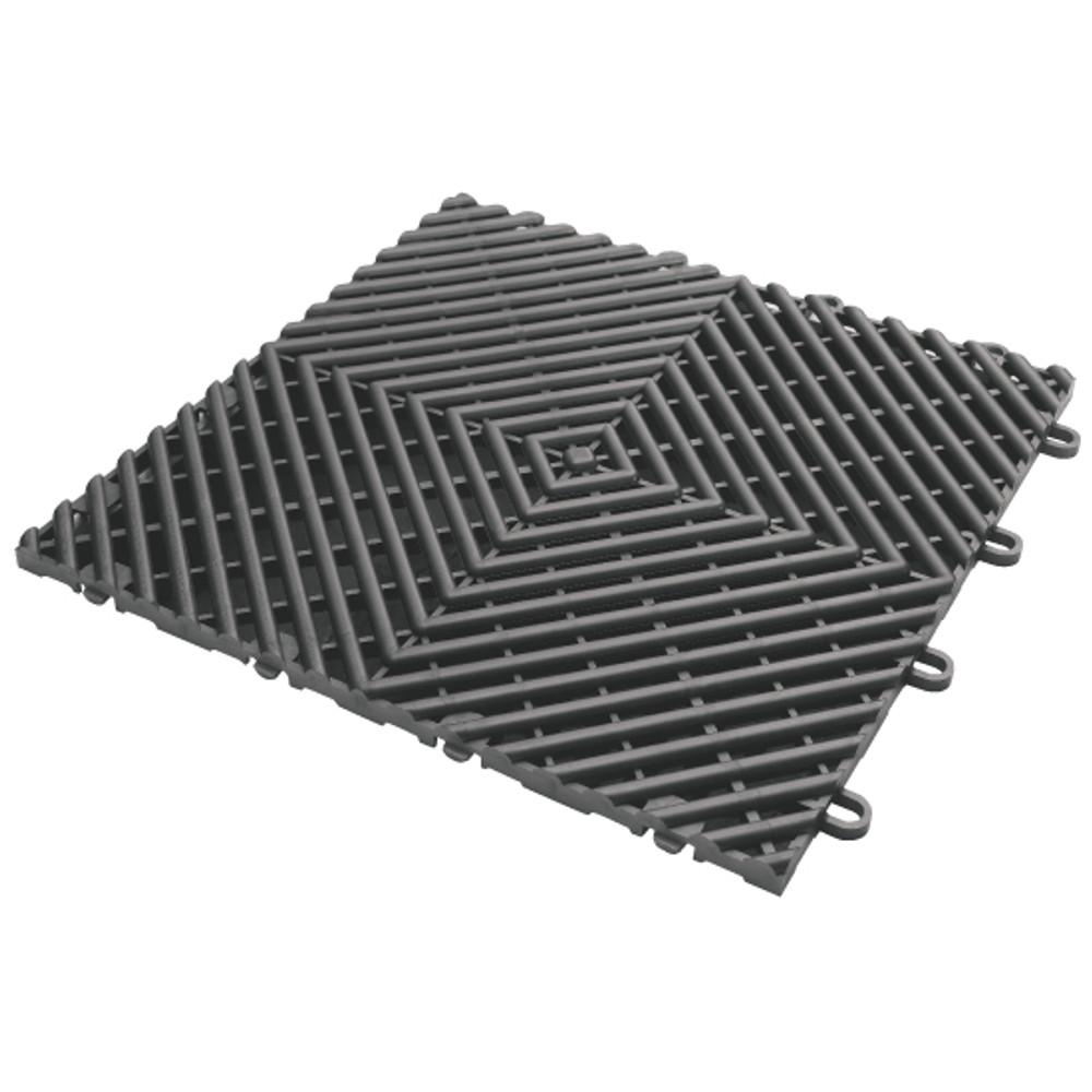 Gladiator Charcoal Drain Tile (4-Pack)