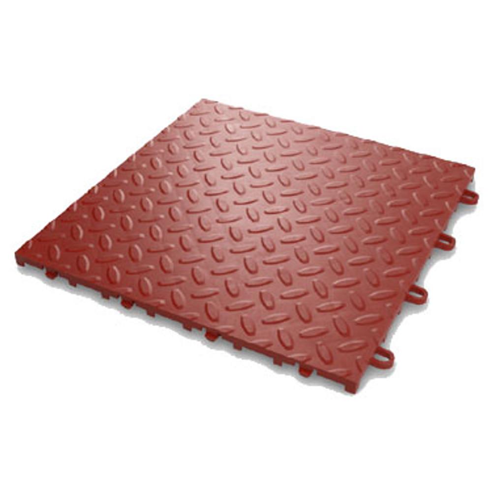 Gladiator Red Tile Flooring (48-Pack)